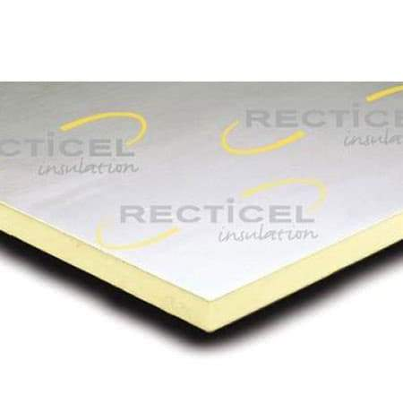 Image of Recticel Eurothane GP 80mm 2.4m x 1.2m - Recticel Insulation
