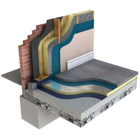 Image of Recticel Eurothane GP 120mm 2.4m x 1.2m - Recticel Insulation