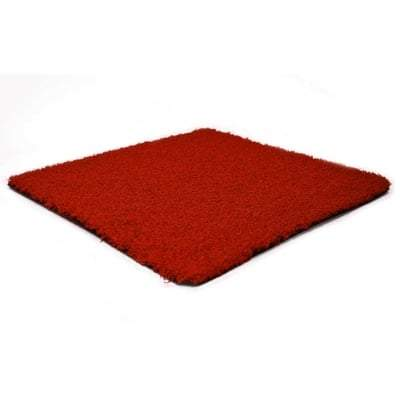15mm Prime Red - All Sizes - Artificial Grass Artificial Grass