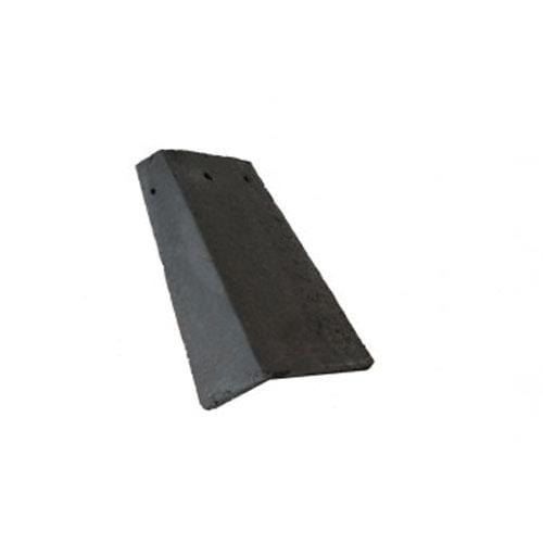Redland Concrete Plain Roof Tiles 90° Ext Angle Right Hand - All Colours