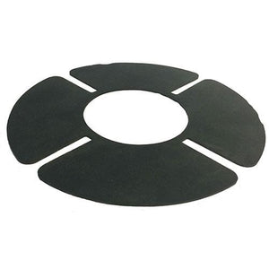 HRSP rubber shockpad for pedestal head - self-adhesive - All Sizes - Ryno Outdoor & Garden