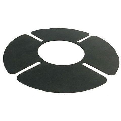 Image of HRSP rubber shockpad for pedestal head - self-adhesive - All Sizes - Ryno Outdoor & Garden