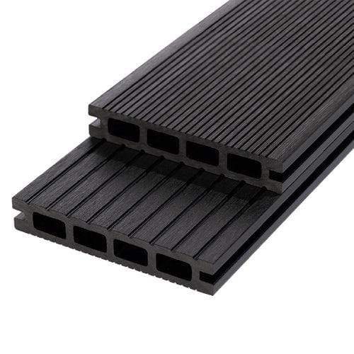 RynoTerrace Classic Composite Deck Board - 3m x 150mm x 25mm - All Colours - Ryno Outdoor & Garden