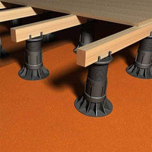 Load image into Gallery viewer, RDA Adjustable Self-Leveling Decking Pedestals