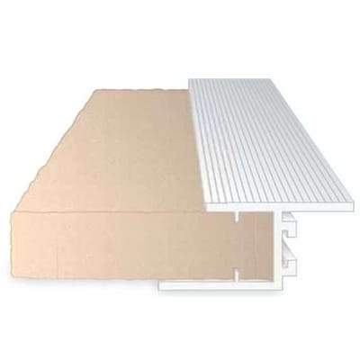 Speedline PVCU Ext. XPS. Cavity Closer, 100mm x 2.4m Single Ext - Speedline Insulation