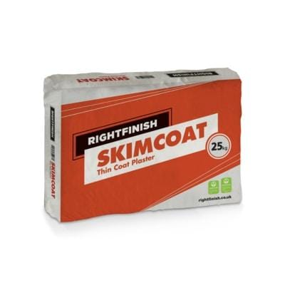 Skimcoat Thin Coat Plaster 25kg Bag - Rightfinish Building Materials