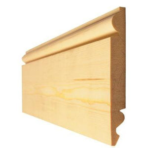 Skirting Board Timber Torus Ogee 25mm x 125mm