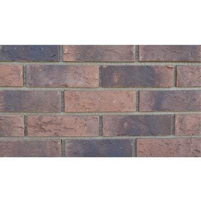 Stapleford Red Multi Facing Brick 65mm x 215mm x 103mm (Pack of 528) TBC - ET Clay Building Materials