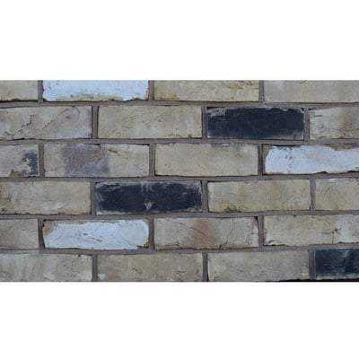 Imperial Stratford Weathered Yellow Stock Reclaimed Facing Brick 68mm x 230mm x 105mm ( Pack of 360) - ET Clay Building Materials