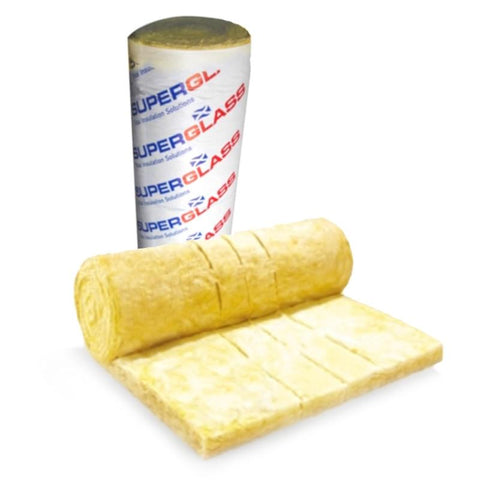 Image of Superglass Multiroll 44 100mm (12.12m2 roll) - Superglass Insulation