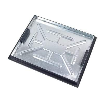 Image of Recessed Locking Manhole Cover and Frame 600 x 450mm (5 Tonne Sealed) - Clark-Drain Drainage