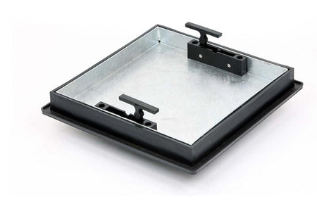 Recessed Locking Manhole Cover and Frame 300 x 300mm (5 Tonne Sealed) - Clark-Drain Drainage