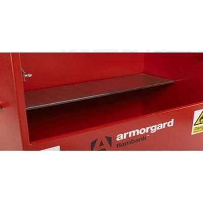 Set of Shelf Brackets To Suit TSC/FSC Cabinets - Armorgard Tools and Workwear