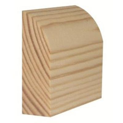 Timber Architrave Bullnosed Standard 19mm x 75mm - Build4less Timber
