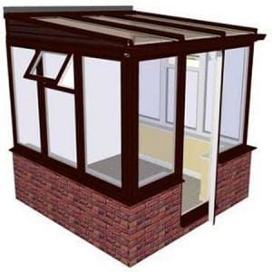 Traditional Dwarf Wall Conservatory