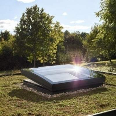 Image of Velux CFP Fixed Curved Glass Rooflight - All Sizes - Velux Roof Windows