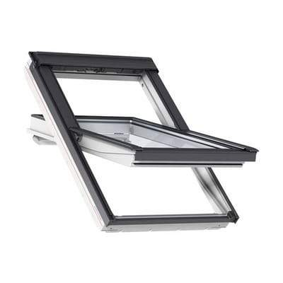 VELUX GGL SK06 2070 White Painted Laminated Centre Pivot Roof Window 114x118cm - Velux Roofing
