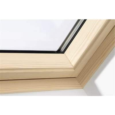 VELUX GGL FK06 3070 Pine Laminated Centre Pivot Roof Window 66x118cm - Velux Roofing