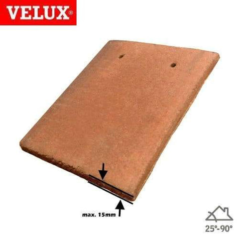 VELUX EDP CK02 0000 Single Plain Tile Flashing 55cm x 78cm - Velux Roofing