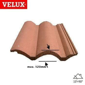 VELUX EDW MK04 0000 Single 120mm Tile Flashing 78cm x 98cm - Velux Roofing