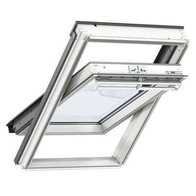 VELUX GGL 2070 White Painted Laminated Centre Pivot Roof Window - All Sizes - Velux Roof Windows