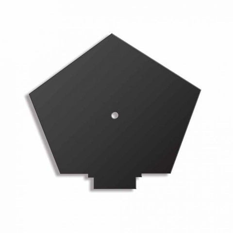 Continuous Dry Verge Ridge And Cap Slate Black - Easy Trim Roofing