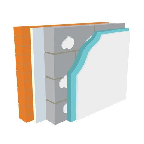 Warmline XPS Insulated Plasterboard (All Sizes) - Warmline Insulation