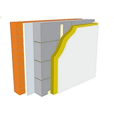 Warmline PIR Insulated Plasterboard 92.5mm overall 1.2 x 2.4m - Warmline Insulation