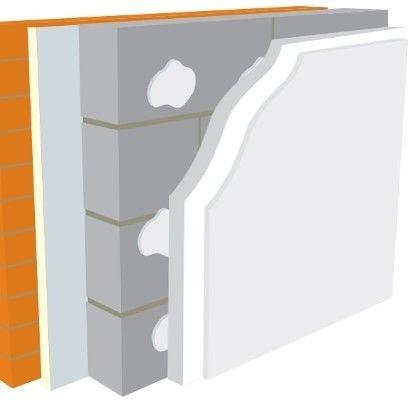 Warmline EPS Insulated Plasterboard (All Sizes) - Warmline Insulation