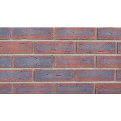 New Westcott Red Multi Facing Brick 65mm x 215mm x 102.5mm (Pack of 500) - Ibstock Building Materials