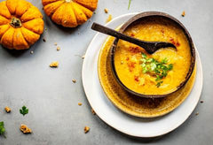 roasted butternut squash and parmesan soup