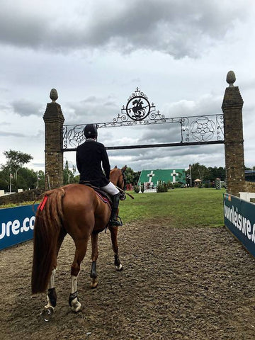 Michael Potter at Hickstead