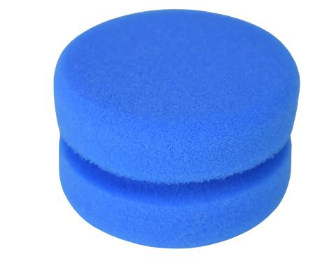 Blue Top-Coat Sponge Applicator
