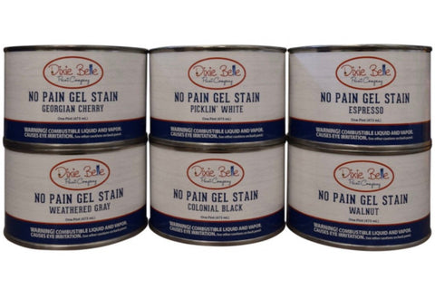 Dixie Belle - No Pain Gel Stain (Oil Based)