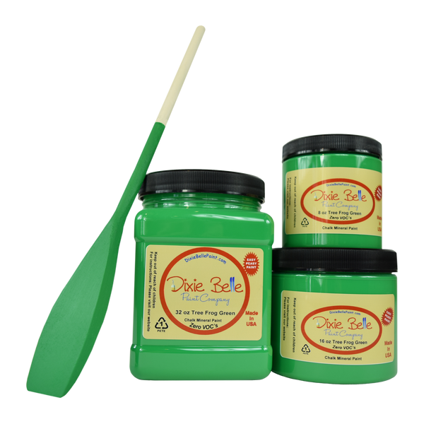 Dixie Belle Paint - Tree Frog Green