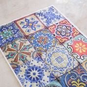 Belles and Whistles by Dixie Belle - Colorful Tiles