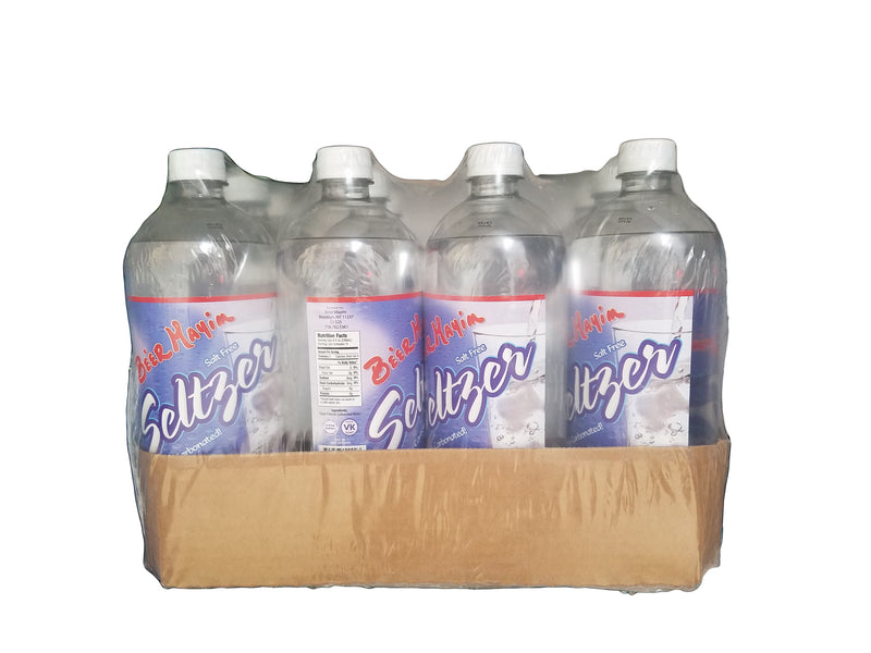 Be'er Mayim Seltzer, 33.8oz (12 bottles)