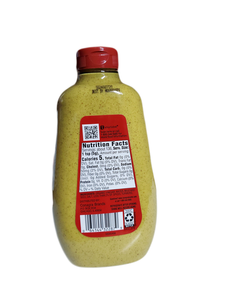 Gulden's Spicy Brown Mustard, 24oz