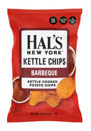 Hal's New York Kettle Cooked Potato Chips - BBQ, 5oz (2 BAGS)