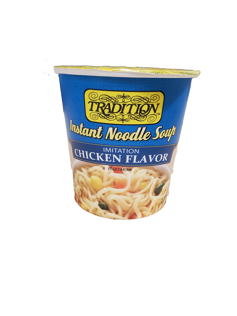 Tradition Instant Noodle Soup - Imitation Chicken Flavor, (12 ct)