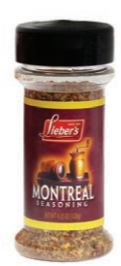 Lieber's Montreal Seasoning, 4.25oz