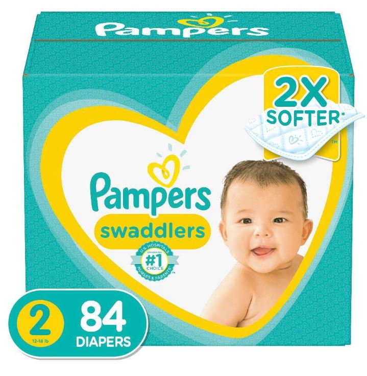 Pampers Swaddlers Diapers Super Pack - Size 2 (84 ct.)