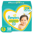 Pampers Swaddlers Diapers Super Pack - Size 5 (58 ct.)