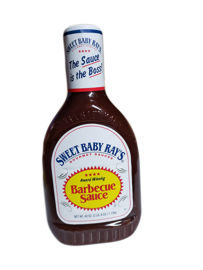 Sweet Baby Ray's Barbecue BBQ Sauce, 40oz
