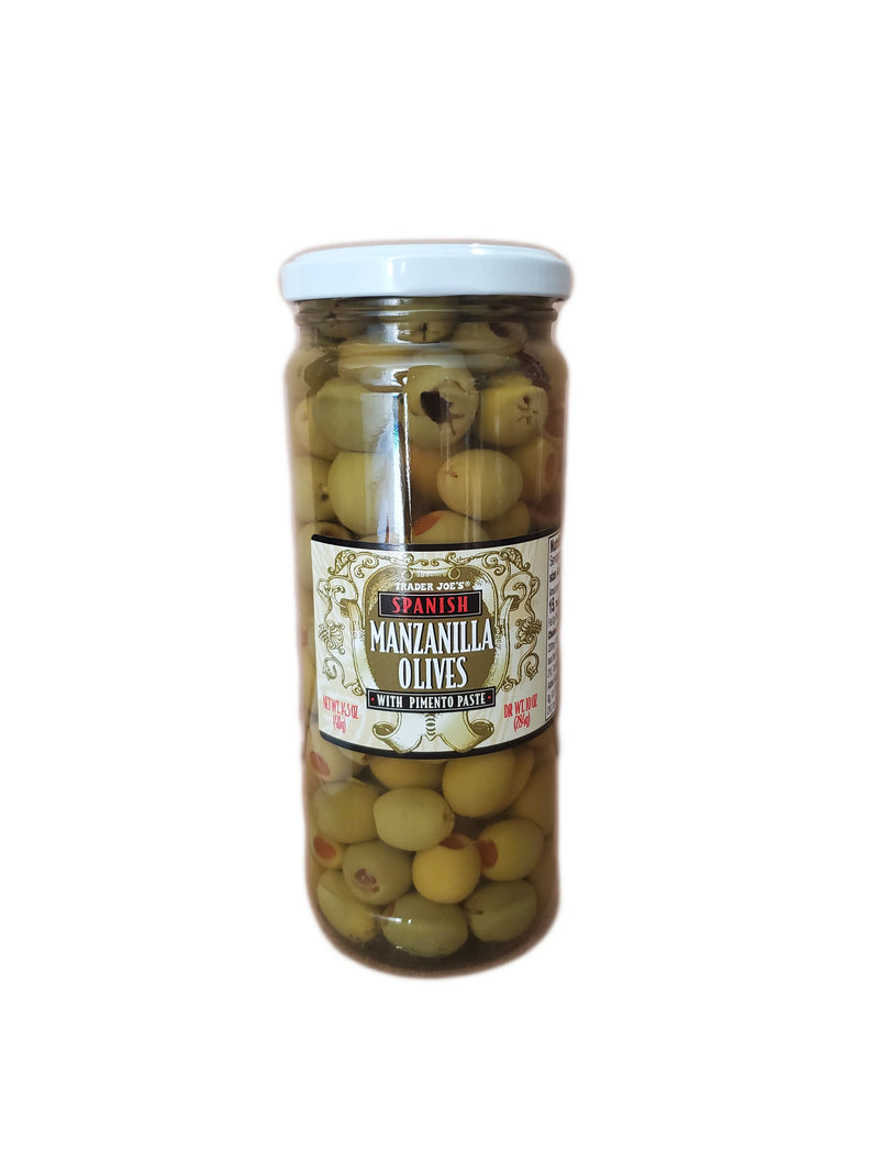 Trader Joe's Spanish Manzanilla Olives, 14.5oz