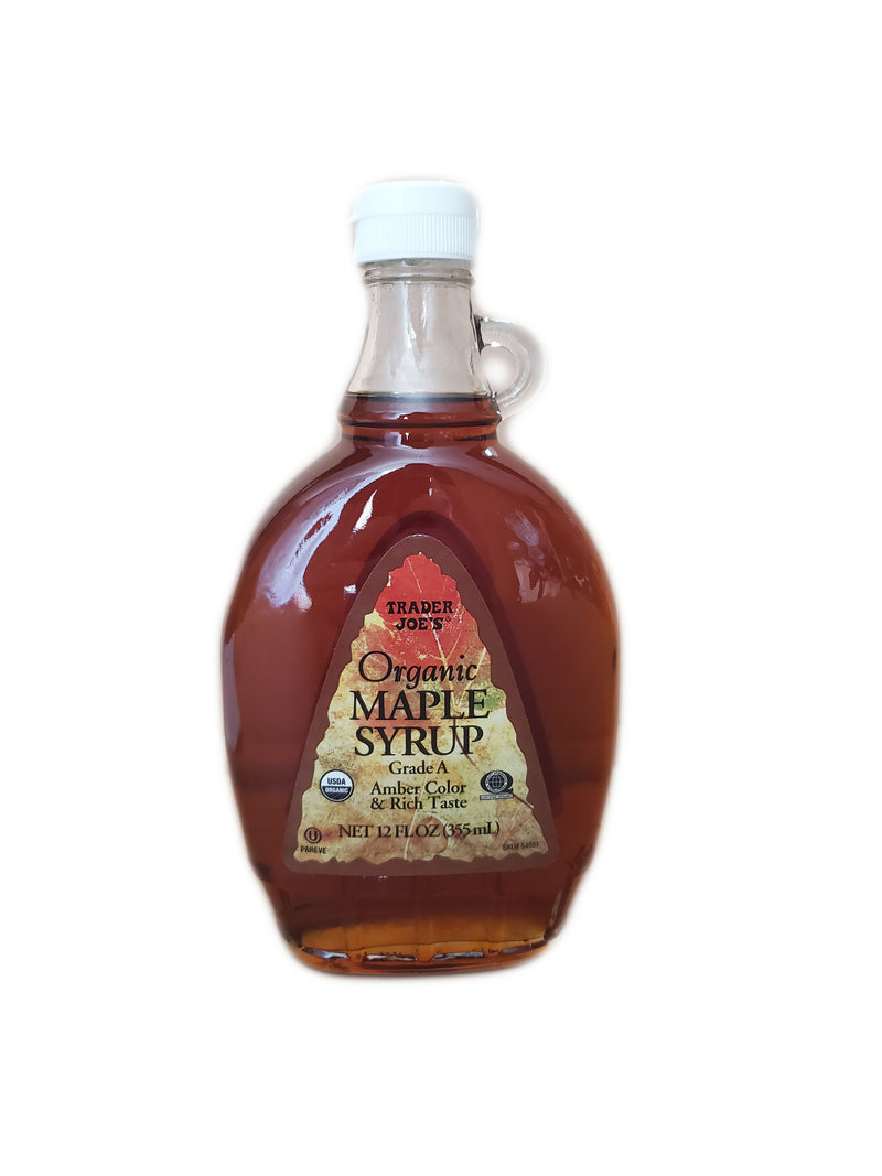 Trader Joe's Organic Maple Syrup, 12oz