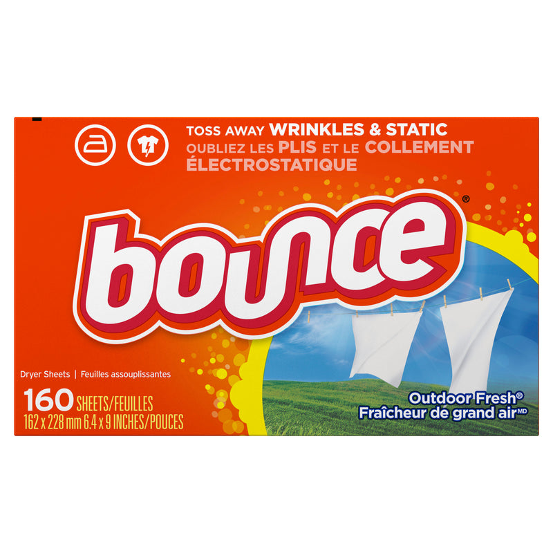 Bounce Outdoor Fresh Fabric Softener Dryer Sheets (250 sheets)