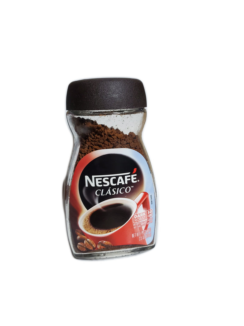 Nescafé Classico Instant Coffee - Dark Roast, 3.5oz