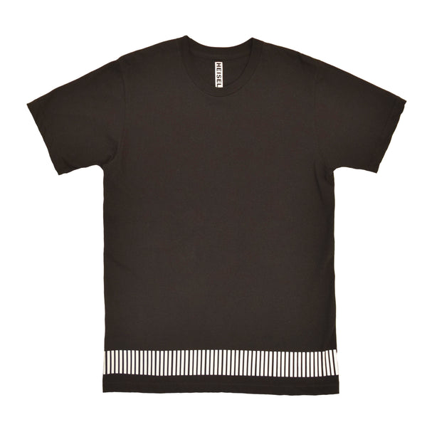 reflective band tee - HEISEL  - 2