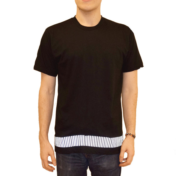 reflective band tee - HEISEL  - 4